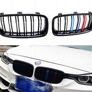 BMW F10 F11 M tech Performance grill njurar med nya