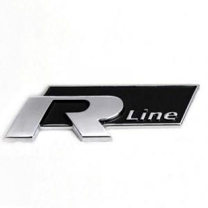 vw rline emblem