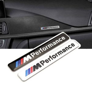 m performance interiör emblem