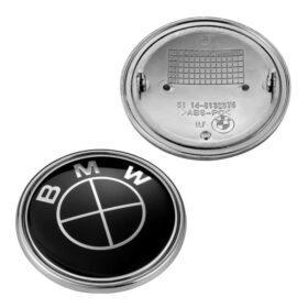 svarta bmw emblem